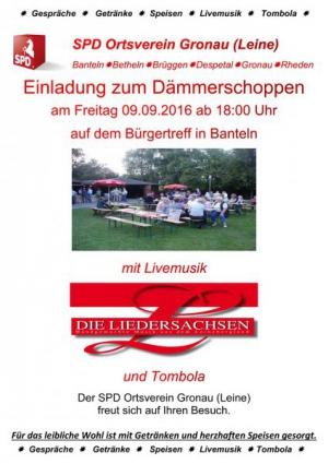 2016 Plakat Daemmerschoppen